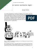 GOLTE, J. Las Vasijas Como Contexto Significante (Sin Datos)