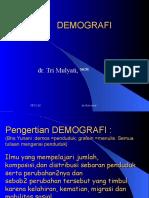 Demografi-kuliah Ikm Untar