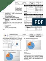 Tabulación Informe - SEGUNDO GRADO - 8 Al 13 de Agosto -