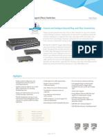 ProSAFE Web Managed Switches DS