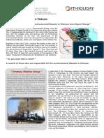 Environmental Disaster in Vietnam