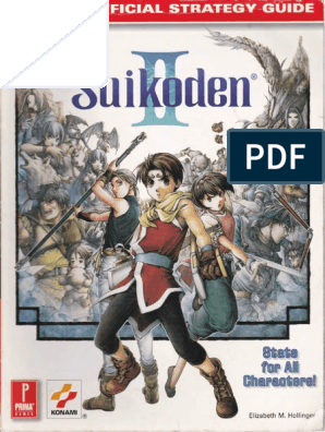 Suikoden II Primas Official Strategy Guide