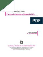 Lab Manual Physics