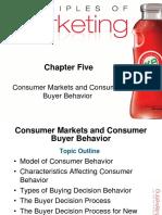 5 Chapter Consumer Buyer Behavior