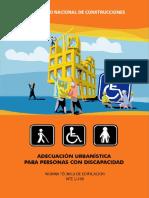 NORMA TECNICA DE EDIFICACION NTE A.060- ADECUACION URBANISTICA PARA PERSONAS CON DISCAPACIDAD.pdf