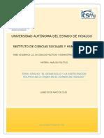 El desarrollo y la participación política de la mujer en el Estado de Hidalgo