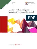 Modelo Pedagogico Para Proyectos de Formacion Virtual
