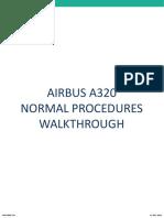 A320 Normal Procedures Scanflow