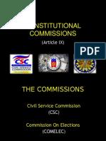 18 PGC (Constitutional Commissions)