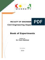 Civil Dept. Lab Syllabus Book