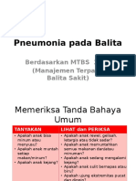 Pneumonia MTBS 2015