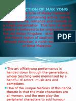 Introduction of Mak Yong 2