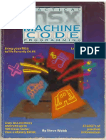 Practical Msx Machine Code Programming Steve Webb Text