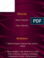 Macro Minerals