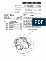 Patent for Brainwave Device 2 US5740812