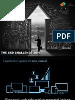 Cognizant CXO Challenge 2016