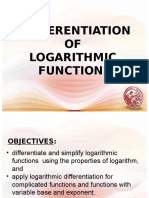 Lesson 22.Derivative of Logarithmic Functions.pptx