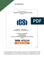 Project on Secretarial Standards