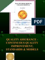 Quality Assurance & CQI