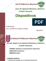 Dispositivos esime 2015