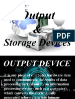Output and Storage Devices