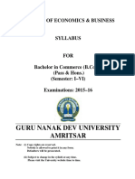 BCOM PASS and HONS SEMESTER I to VI.pdf