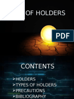 Types of Holders