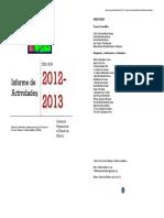 Informe de Actividades CDHZL 2012-2013