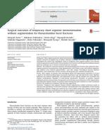 Surgical Outcomes of Temporary Short-segment Instrumentation