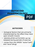 Autocoid Pharmacology