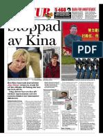 """""""Stoppad av Kina"""", för Expressen"""