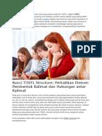 Soal Latihan TOEFL