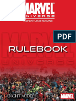 Marvel Universe Miniatures Game Rulebook