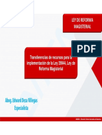 LRM - Edward Deza Villegas - Transferencias de Recursos