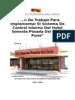 Control Interno -Sonestaposadas Del Inca Puno