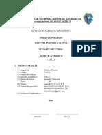 Silabo Genetica Clinica 2014