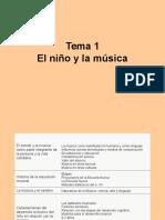 El Niño y la Música