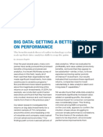 Big Data Getting a Better Read on Performance