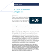 Future of Bank Risk Management
