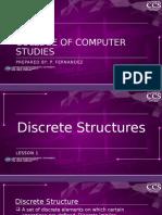 Dis_struc - Itec 205_l1