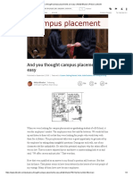 And You Thought Campus Placements Are Easy _ Abhijit Bhaduri _ Pulse _ L...