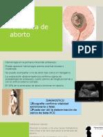 Amenaza de Aborto