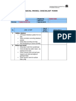 11May08-Model Checklist Form Updated.doc