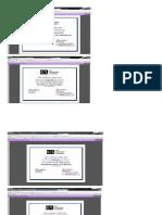 CarverA Tutorial Certificates