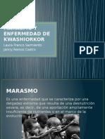 Marasmo y Enfermedad de Kwashiorkor