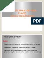 Ciclo Didáctico (didáctica del lenguaje)