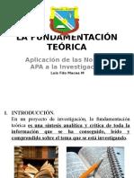 LA FUNDAMENTACIÓN TEÓRICA.pptx
