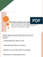 Evolution of HRM (1)