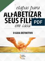 eBook as 5 Etapas para Alfabetizar seus filhos em casa v2