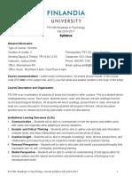 PSY396 Readings Psychology Syllabus F2016-17 (2016 Template)